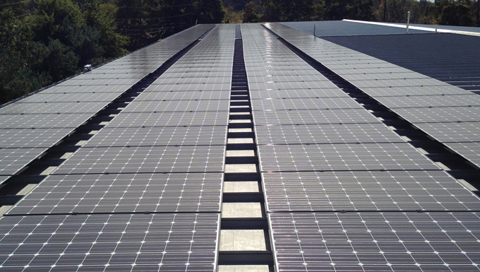 MP Filtri USA Mounted Solar Photovoltaic Project