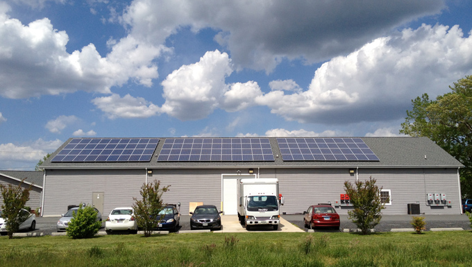 Ace Printing & Mailing Roof Mounted Solar Photovoltaic Project
