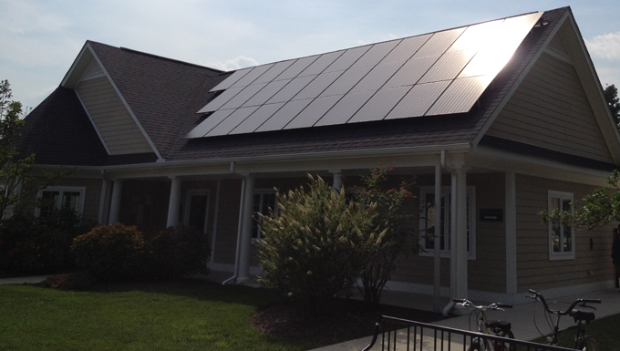 The Refuge at Dirickson Creek HOA Roof Mounted and Solar Carport Solar Photovoltaic Project
