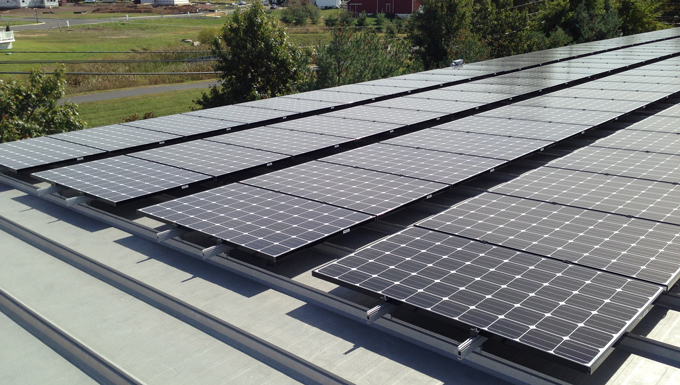 MP Filtri USA Roof Mounted Solar Photovoltaic Project