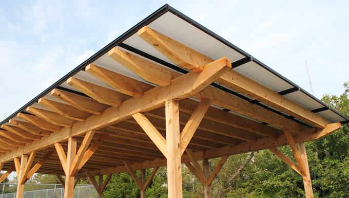 Villages of Southampton HOA Roof Mounted and Solar Pergola Solar Photovoltaic Project