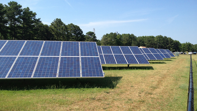 Sussex County Emergency Operation Center (EOC) Ground Mounted Solar Photovoltaic Project