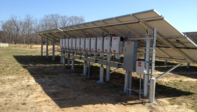 Worcester County Recreation Center Ground Mounted Solar Photovoltaic Project